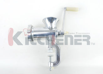 Hand Powered Manual Meat Grinder Stainless Steel Heavy Duty For Processing / Yielding