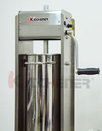 Chiny Commercial 3L Sausage Filler Sausage Stuffer , 7LB Dual Speed Meat Maker Machine fabryka